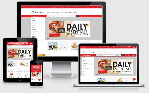 Online Groceries Store