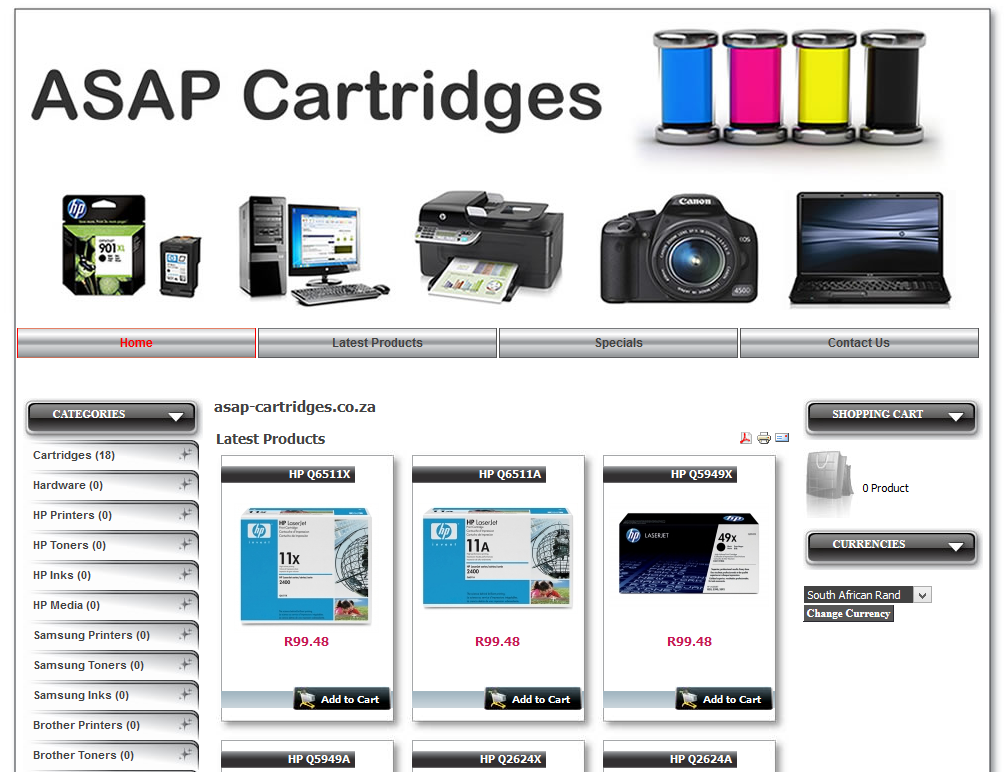 Printer Cartiges Store