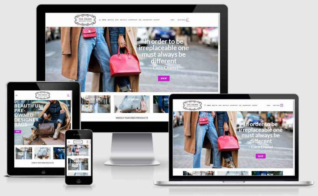 Online Brand handbag store
